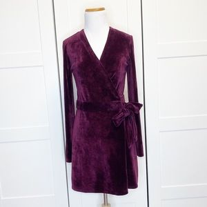Lilly Pulitzer Karlie Wrap Romper Cabernet Small